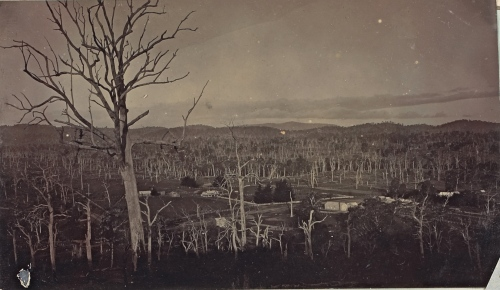 The township of Strathbogie in about 1900; from 'Early History of Strathbogie' by J.R. Donald and Mr Vroland 1949.