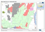 Forest management zones in the southern Strathbogie State Forest.
