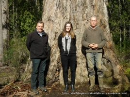 Michael Spencer, Stephanie Ryan National Party candidate Euroa & Sim Ayres