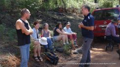VicForests staff in discussion