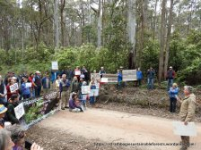 Supporters came from Euroa, Strathbogie, Violet Town, Yarrawonga and Beechworth