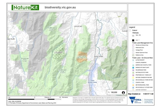 Toorour RA map