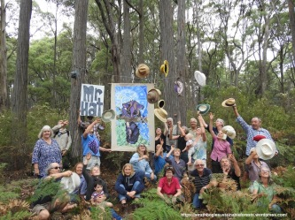 Plenty of support here for the Strathbogie Forest.