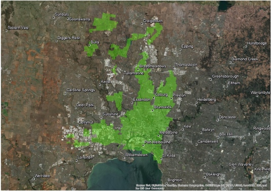 Strathbogie_Forest superimposed on Melbourne small